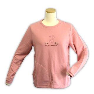 ポケット付きトレーナー(ピンク)LL 394121-41 PR