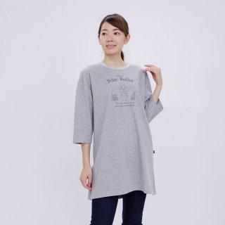 7分袖ビッグTシャツ(杢グレー) M 301146-93 PR