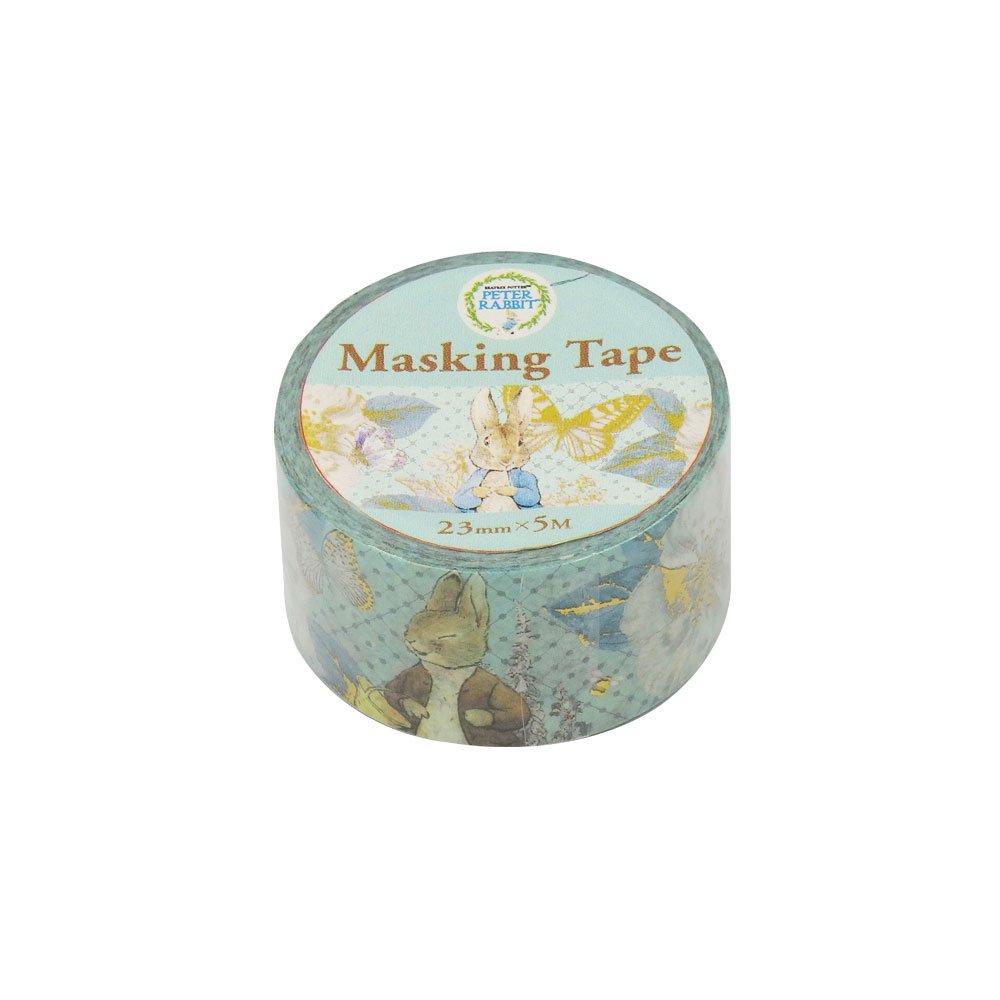 ピングー マスキングテープ(ブルーフラワー)EPR22 PR