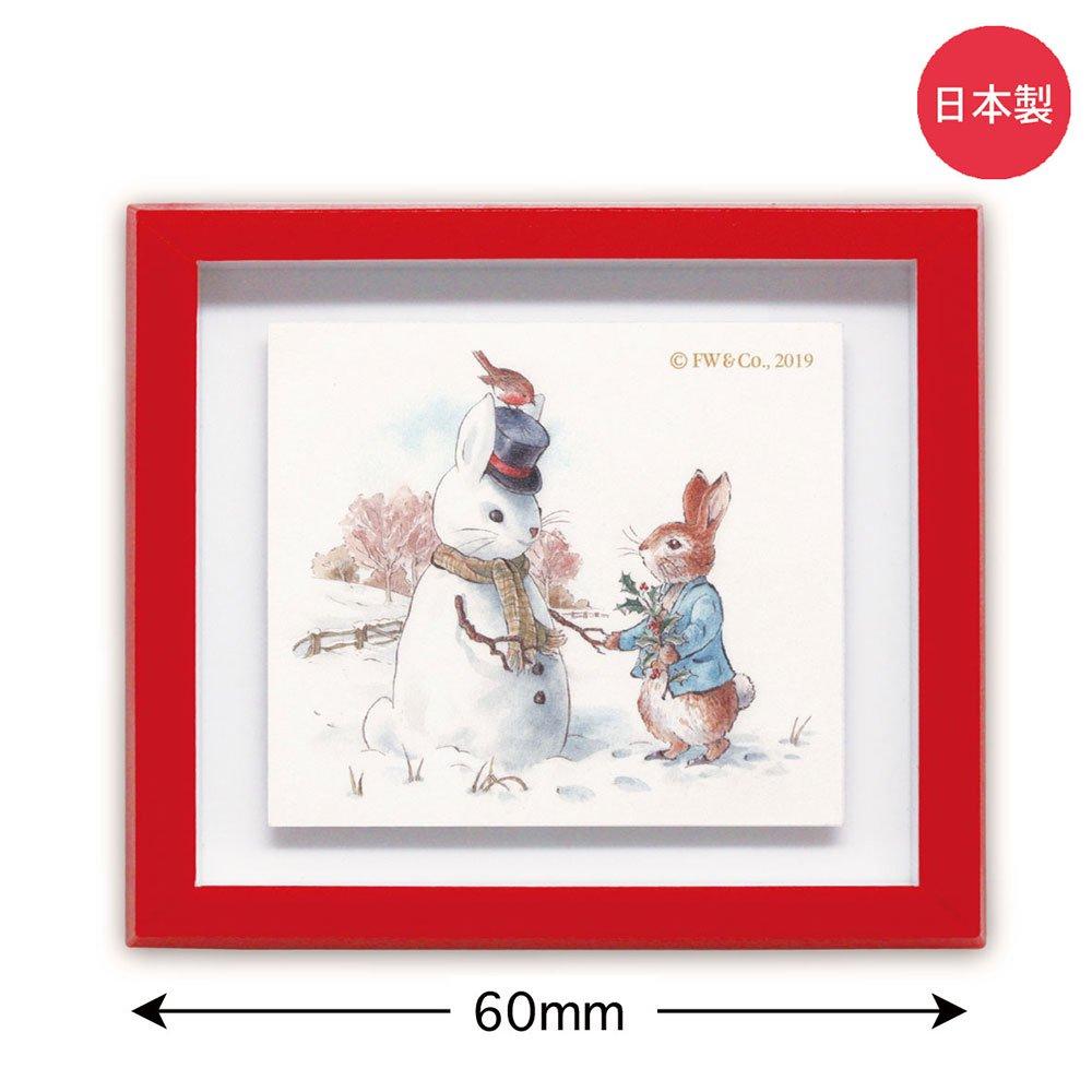 ピングー フレームマグネット(雪だるま)PR-GM003 PR