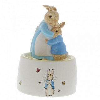 オルゴール(Mrs. Rabbit and Peter Ceramic Musical)A30003 PR