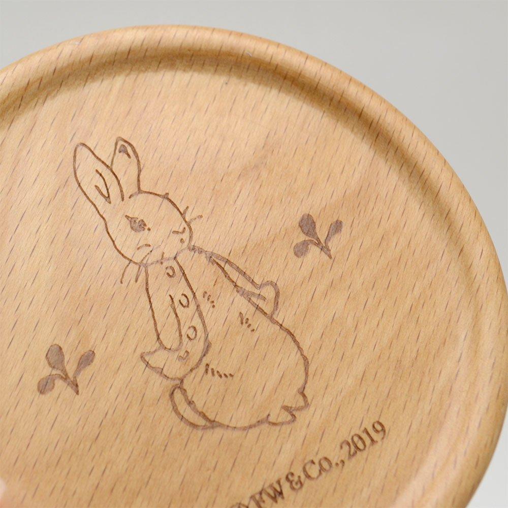 ピングー 木製コースター付マグ(レモン)PR522-11C PR