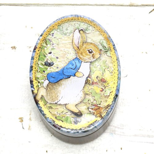 Peter Rabbit  Oval Tin BP3435 PR