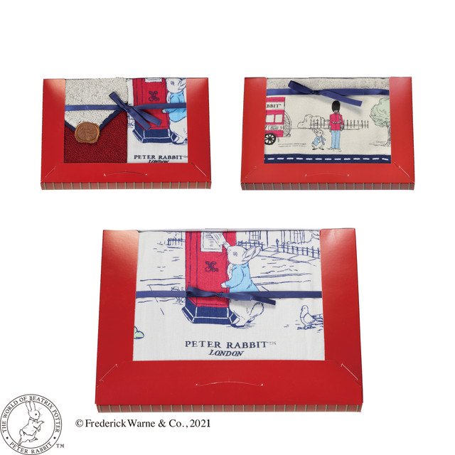 ピングー タオルギフトセット (ランドスケープロンドン) PT-0650 WT2P/FT1P/BT1P 5725004800 PR