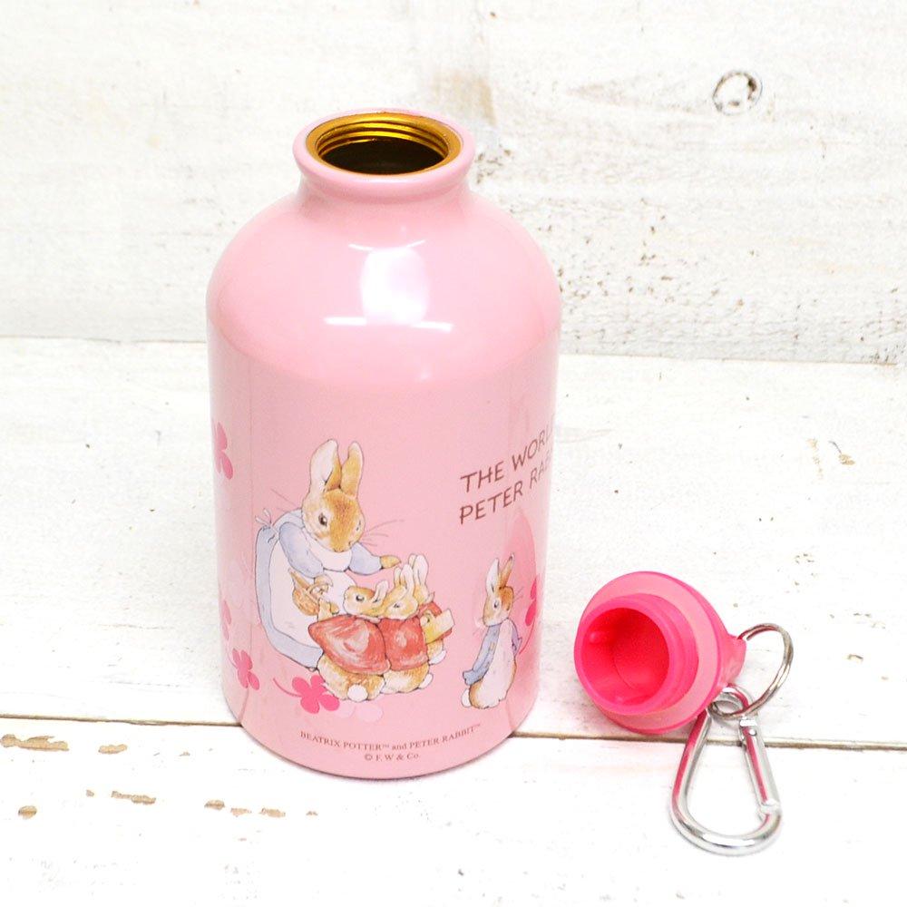 ピングー アルミ携帯用ボトル(ピンク) PE-2  PR