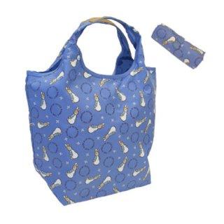 ショッピングコンパクトバッグ(ブルー) #0634 PR