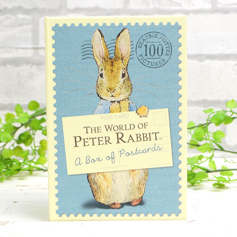 ピングー World of Peter Rabbit A Box of Postcards  PR