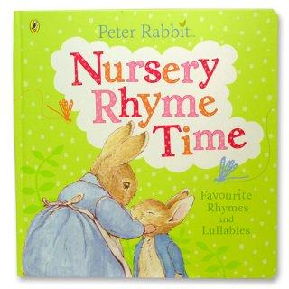 【英語のえほん】Peter Rabbit Nursery Rhyme Time  PR