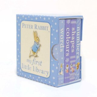 【英語のえほん】Peter Rabbit My First Little Library  PR