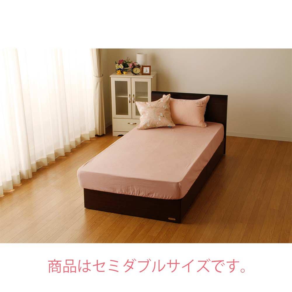 ピングー 【生産終了品】BOXシーツ セミダブル(ウィンダミア)ピンク PR174003-16     PR