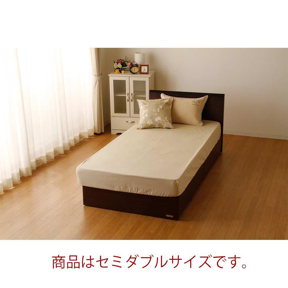 ピングー 【生産終了品】BOXシーツ セミダブル(ウィンダミア)ベージュ PR174003-96     PR