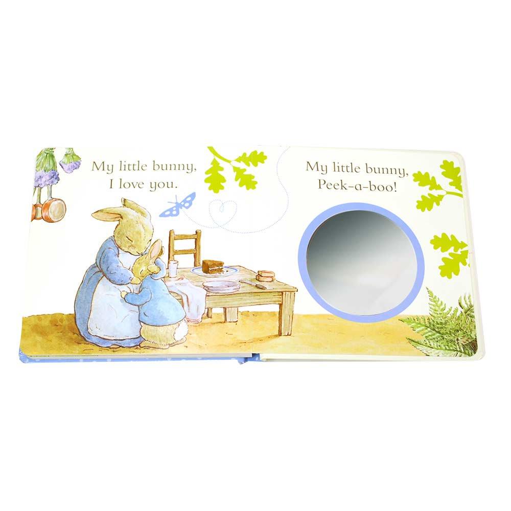 ピングー 【英語のえほん】Peter Rabbit I Love You (Peekaboo)  PR