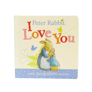 【英語のえほん】Peter Rabbit I Love You (Peekaboo)  PR