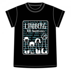 <img class='new_mark_img1' src='//img.shop-pro.jp/img/new/icons15.gif' style='border:none;display:inline;margin:0px;padding:0px;width:auto;' />LINDBERG 30th Anniversary グッズ/Tシャツ(LW会員限定)