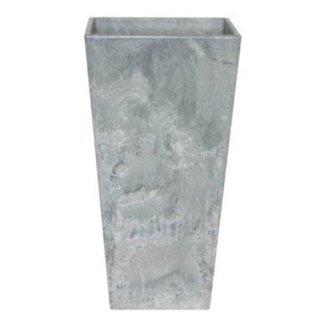 アートストーン トール スクエアー 35 x H 70 cm / 軽量 / 植木 鉢 プランター 【 グレー 】 / 送料無料