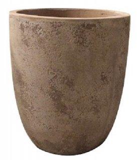 ルーガ アンティコ アルトエッグ 43 x H 50 cm / テラコッタ / 植木 鉢 プランター / 送料無料