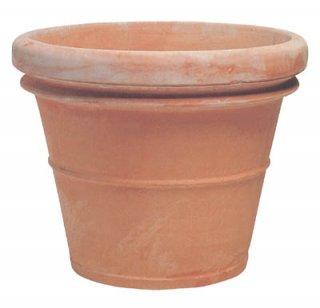リムポット 70 cm / べノッチ / テラコッタ / 植木 鉢 プランター / 送料無料