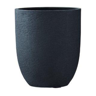 ビアス アルトエッグ 43 x H 50 cm / 軽量 / 植木 鉢 プランター 【 ブラック 】 / 送料無料