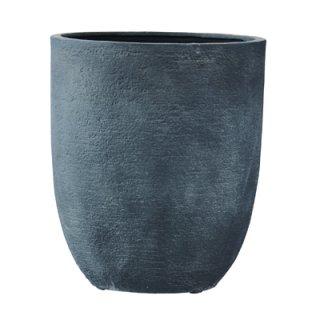 ビアス アルトエッグ 43 x H 50 cm / 軽量 / 植木 鉢 プランター 【 グレー 】 / 送料無料