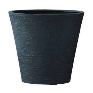 ビアス ソリッド 43 x H 40 cm / 軽量 / 植木 鉢 プランター 【 ブラック 】 / 送料無料