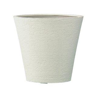 ビアス ソリッド 43 x H 40 cm / 軽量 / 植木 鉢 プランター 【 アイボリー 】 / 送料無料