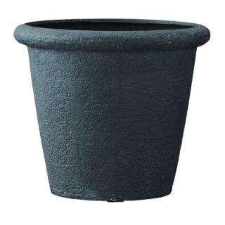 ビアス リムス 46 x H 40 cm / 軽量 / 植木 鉢 プランター 【 ブラック 】 / 送料無料