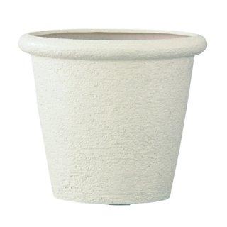 ビアス リムス 46 x H 40 cm / 軽量 / 植木 鉢 プランター 【 アイボリー 】 / 送料無料