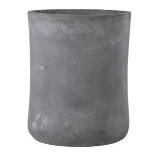 バスク ミドル 37 cm / 軽量 コンクリート / 植木 鉢 プランター 【 グレー 】 / 送料無料