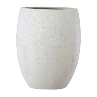 テラニアス ハイバルーン アンティーク 40 cm / 軽量 / 植木 鉢 プランター 【 ホワイト 】 / 送料無料