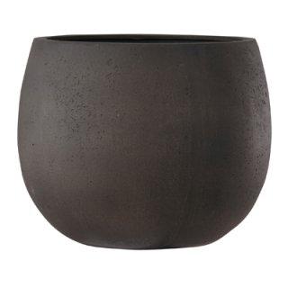 テラニアス ローバルーン アンティーク 42 cm / 軽量 / 植木 鉢 プランター 【 ブラウン 】 / 送料無料