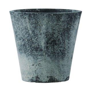 フォリオ ソリッド 43 x H 40 cm / 軽量 コンクリート / 植木 鉢 プランター  【 ブラック ウォシュ 】 / 送料無料