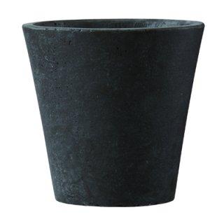 フォリオ ソリッド 43 x H 40 cm / 軽量 コンクリート / 植木 鉢 プランター  【 ダーク ブラウン 】 / 送料無料