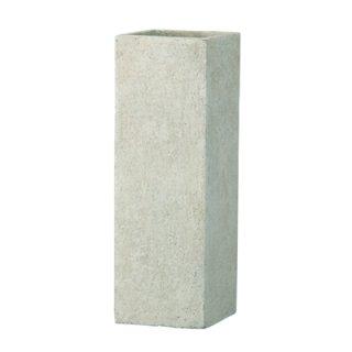 フォリオ クアドラ 22 x H 65 cm / 軽量 コンクリート / 植木 鉢 プランター  【 クリーム 】 / 送料無料