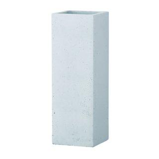 フォリオ クアドラ 22 x H 65 cm / 軽量 コンクリート / 植木 鉢 プランター  【 ホワイト 】 / 送料無料