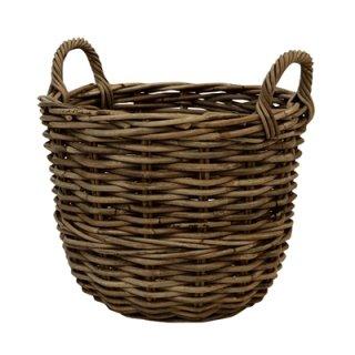 モンデリック バスケットC 48 x H 36 cm / 軽量 / 木製 / 植木 鉢 プランター バスケット / 送料無料