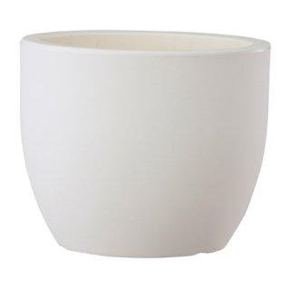 トンド 42 cm / 軽量 / 植木 鉢 プランター 【 ホワイト 】 / 送料無料