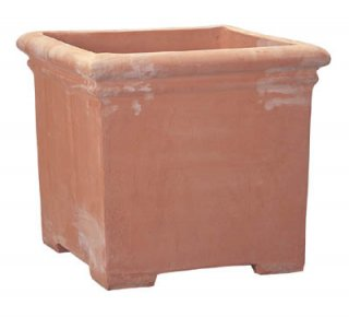 タブポット 足付 45 cm / べノッチ / テラコッタ / 植木 鉢 プランター / 送料無料