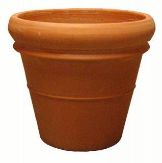 リムポット 47 cm / トスカーナ / テラコッタ / 植木 鉢 プランター / 送料無料