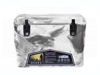 クーラーボックス アイスランド 35QT / グレー & ホワイトカモ / 33.1L / 付属品 3点 付 / 送料無料