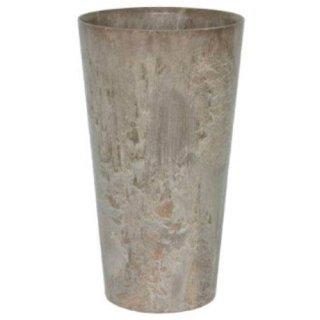 アートストーン トール ラウンド 28 x H 49 cm / 軽量 / 植木 鉢 プランター 【 ベージュ 】 / 送料無料