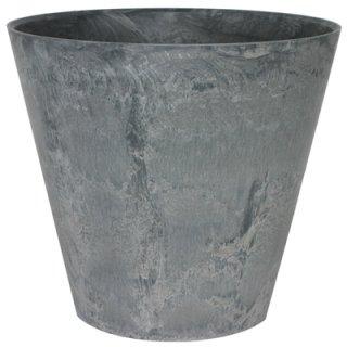アートストーン ラウンド 37 cm / 軽量 / 植木 鉢 プランター 【 グレー 】 / 送料無料
