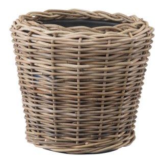 モンデリック ラタン 45 cm x H 43 cm / 軽量 / 木製 / 植木 鉢 プランター バスケット / 送料無料