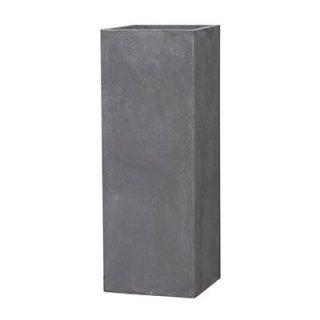 バスク タワー H 120 cm / 軽量 コンクリート / 植木 鉢 プランター 【 グレー 】 / 送料無料