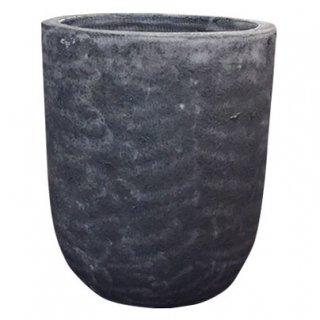 ボルカーノ ソルト Uポット 43 cm / テラコッタ / 植木 鉢 プランター 【 ブルー 】 / 送料無料