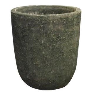ボルカーノ ソルト Uポット 43 cm / テラコッタ / 植木 鉢 プランター 【 グリーン 】 / 送料無料