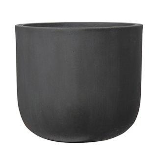 オーク Uポット アンティーク 40 cm / コンクリート / 植木 鉢 プランター 【 グレー 】   / 送料無料