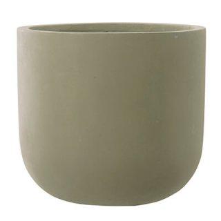 スタウト Uポット マットセメント 40 cm / コンクリート / 植木 鉢 プランター / 送料無料