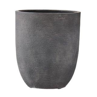 ビアス アルトエッグ 31 x H 36.5 cm / 軽量 / 植木 鉢 プランター 【 グレー 】 / 送料無料