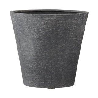 【 専用受皿 付き 】 ビアス ソリッド 31 x H 29 cm / 軽量 / 植木 鉢 プランター 【 グレー 】 / 送料無料
