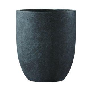 フォリオ アルトエッグ 31 x H 36.5 cm / 軽量 コンクリート / 植木 鉢 プランター 【 ダーク ブラウン 】 / 送料無料